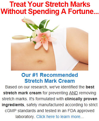 Check out our #1 recommended stretch mark treatment...